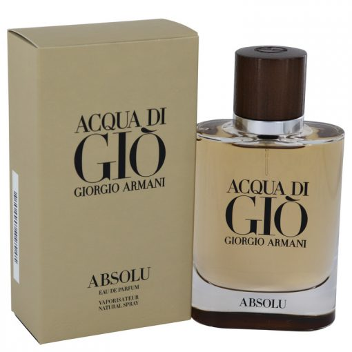 Acqua Di Gio Absolu Cologne by Giorgio Armani Eau De Parfum Spray 2.5 fl. oz. (75 ml)