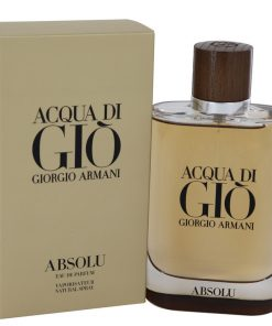 Acqua Di Gio Absolu Cologne by Giorgio Armani Eau De Parfum Spray 4.2 fl. oz. (125 ml)